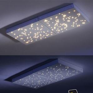 UNIVERSE MASTER LED panel två olika ljusstyrkor