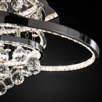 Plafond Lyra kristall